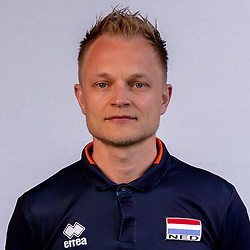 Teun Thomassen of Netherlands, Photoshoot selection of Orange women's volleybal team season 2021on may 12, 2021 in Arnhem, Netherlands (Photo by RHF Agency/Ronald Hoogendoorn)