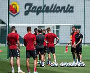 Pierwszy trening Jagiellonii w nowym sezonie - 17.06.2021