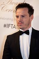 Andrew Scott  at the IFTA Film & Drama Awards (The Irish Film & Television Academy) at the Mansion House in Dublin, Ireland, Thursday 15th February 2018. Photographer: Doreen Kennedy