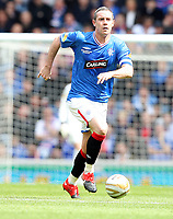 Football - Scottish Premier League -  Rangers vs Motherwell<br /> <br /> <br /> David Weir, captain of Rangers and 40 years old tomorrow played every minute of Rangers premier League campaign.