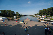 Amsterdam. NETHERLANDS. General View of teh baoting area, 2014 FISA  World Rowing. Championships.  De Bosbaan Rowing Course . 07:48:35  Thursday  21/08/2014  [Mandatory Credit; Peter Spurrier/Intersport-images]