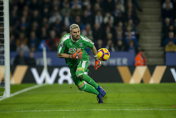 February 23, 2019 - Leicester, England, United Kingdom - Julian Speroni of Crystal Palace during the Premier League match between Leicester City and Crystal Palace at the King Power Stadium, Leicester on Saturday 23rd February 2019. (Credit Image: © Mi News/NurPhoto via ZUMA Press)