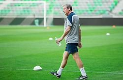 Roy Hodgson, manager during practice session of England National Football Team 1 day before Euro 2016 Qualifications match against Slovenia, on June 13, 2015 in SRC Stozice, Ljubljana, Slovenia. Photo by Vid Ponikvar / Sportida