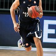 Anadolu Efes's Cenk AKYOL during their Turkish Airlines Euroleague Basketball Group C Game 6 match Anadolu Efes between Partizan at Sinan Erdem Arena in Istanbul, Turkey, Wednesday, November 23, 2011. Photo by TURKPIX