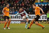 Football - 2012 / 2013 Championship - Burnley vs. Wolverhampton Wanderers<br /> Charlie Austin of Burnley strikes at goal at Turf Moor