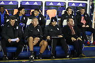 Birmingham City manager Gianfranco Zola during the EFL Sky Bet Championship match between Birmingham City and Brighton and Hove Albion at St Andrews, Birmingham, England on 17 December 2016.
