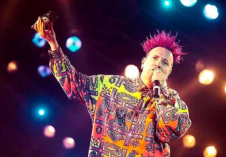 Johnny Rotten, Sex Pistols. Roskilde.