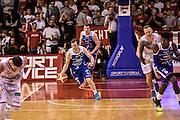 DESCRIZIONE : Reggio Emilia LegaBasket Serie A 2015-2016 Grissin Bon Reggio Emilia - Acqua Vitasnella Cantu'<br /> GIOCATORE : Brad Heslip<br /> CATEGORIA : Palleggio Contropiede<br /> SQUADRA : Acqua Vitasnella Cantu'<br /> EVENTO : LegaBasket Serie A 2015-2016<br /> GARA : Grissin Bon Reggio Emilia - Acqua Vitasnella Cantu'<br /> DATA : 17/10/2015<br /> SPORT : Pallacanestro<br /> AUTORE : Agenzia Ciamillo-Castoria/GiulioCiamillo