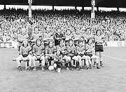 A group photograph of the Kerry team before the Kerry v Dublin All Ireland Senior Gaelic Football Final in Croke Park on the 24th of September 1978. Kerry 5-11 Dublin 0-9.