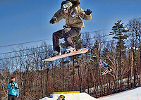 Snowboard Pro Am event at Gunstock Mountain Resort March 27, 2010.