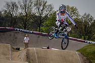 #211 (EVANS Kyle) GBR at the 2016 UCI BMX Supercross World Cup in Papendal, The Netherlands.