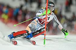 14.01.2020, Hermann Maier Weltcupstrecke, Flachau, AUT, FIS Weltcup Ski Alpin, Slalom, Damen, 1. Lauf, im Bild Nina Haver-Loeseth (NOR) // Nina Haver-Loeseth of Norway during her 1st run of women's Slalom of FIS ski alpine world cup at the Hermann Maier Weltcupstrecke in Flachau, Austria on 2020/01/14. EXPA Pictures © 2020, PhotoCredit: EXPA/ Erich Spiess