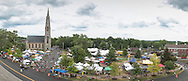 Goshen, New York - Scenes from the Great American Weekend on July 3, 2016.