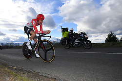 March 7, 2018 - Chatel-Guyon, FRANCE - Belgian Tim Wellens of Lotto Soudal pictured in action during the fourth stage of the 76th edition of Paris-Nice cycling race, a 18,4 km individual time trial from La Fouillouse to Saint-Etienne, France, Wednesday 07 March 2018. The race starts on the 4th and ends on the 11th of March...BELGA PHOTO DAVID STOCKMAN (Credit Image: © David Stockman/Belga via ZUMA Press)