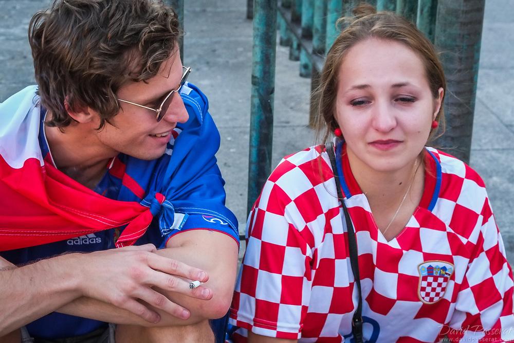 France wins, Croatia sobs.