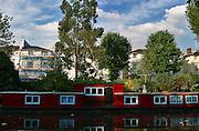 England, London: house boat at Little Venice England, London:
