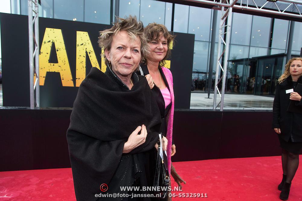 NLD/Amsterdam/20140508 - Wereldpremiere voorstelling Anne,  Conny Palmen