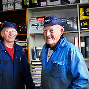 Hans Allansson och Allan Thorstensson till höger.<br /> FOTO: BOEL FERM