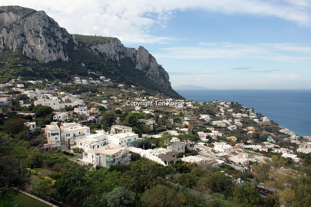 Capri island, one hour boat ride from naples