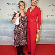 NLD/Amsterdam/20191217 - Premiere April, May en June, Anouk van Nes en Mylène d'Anjou