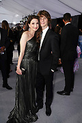 Actress Marin Hinkle and son