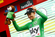 Podium, Michal Kwiatkowski (POL - Team Sky) Green jersey, during the UCI World Tour, Tour of Spain (Vuelta) 2018, Stage 6, Huercal Overa - San Javier Mar Menor 155,7 km in Spain, on August 30th, 2018 - Photo Luca Bettini / BettiniPhoto / ProSportsImages / DPPI
