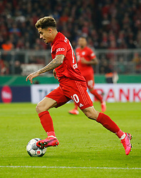 05.02.2020, Allianz Arena, Muenchen, GER, DFB Pokal, FC Bayern Muenchen vs TSG 1899 Hoffenheim, Achtelfinale, im Bild Philippe Coutinho // during the German Pokal the round of last sixteen match between FC Bayern Muenchen and TSG 1899 Hoffenheim at the Allianz Arena in Muenchen, Germany on 2020/02/05. EXPA Pictures © 2020, PhotoCredit: EXPA/ SM<br /> <br /> *****ATTENTION - OUT of GER*****