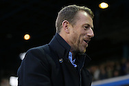 Birmingham City first team manager Gary Rowett during the Sky Bet Championship match between Birmingham City and Brighton and Hove Albion at St Andrews, Birmingham, England on 5 April 2016.