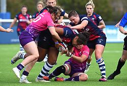 Row Marston of Bristol Bears Women with the ball - Mandatory by-line: Paul Knight/JMP - 28/09/2019 - RUGBY - Shaftesbury Park - Bristol, England - Bristol Bears Women v Loughborough Lightning  - Tyrrells Premier 15s