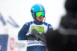 Whitley James of Great Britain during Slalom race at 2019 World Para Alpine Skiing Championship, on January 23, 2019 in Kranjska Gora, Slovenia. Photo by Matic Ritonja / Sportida