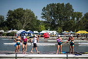 Plovdiv BULGARIA. 2017 FISA. Rowing World U23 Championships. <br /> <br /> Wednesday. AM, general Views, Course, Boat Area<br /> 09:48:24  Wednesday  19.07.17   <br /> <br /> [Mandatory Credit. Peter SPURRIER/Intersport Images].