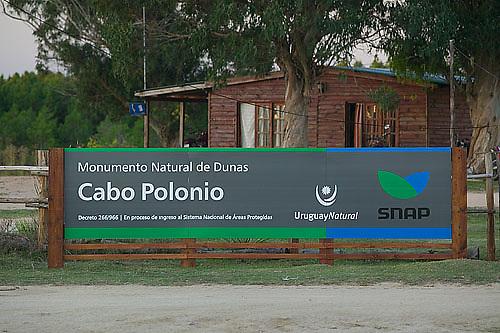 South America, Uruguay, Rocha, Cabo Palonio, Monumento Natural de Dunas, office