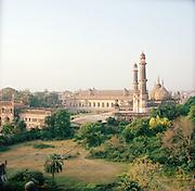 Landscape of the Great Imambara, Lucknow, Uttar Pradesh, India