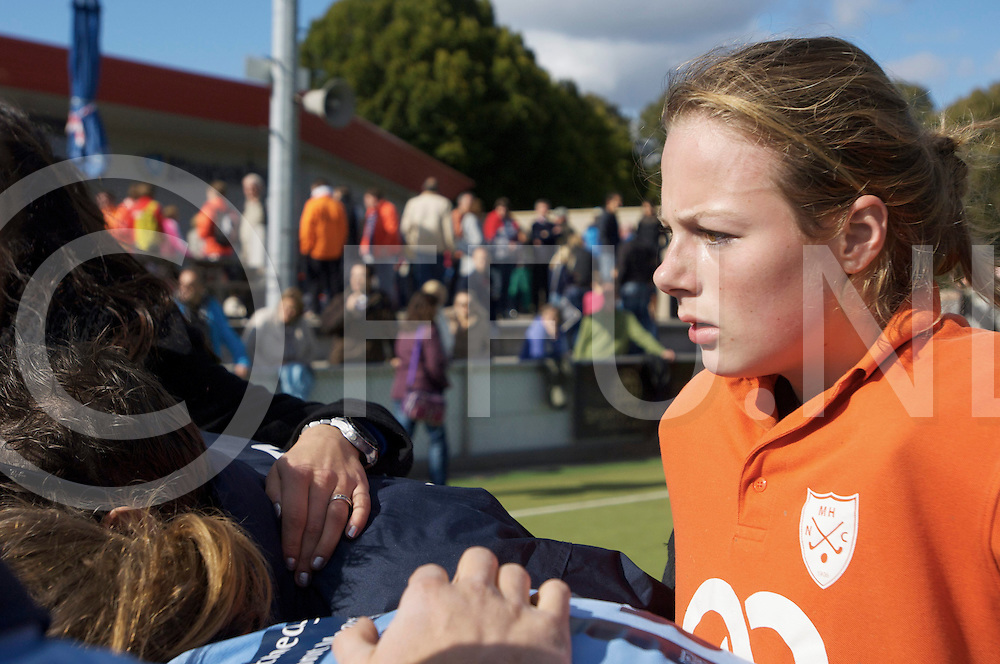 NIJMEGEN - Nijmegen-Pinoke dames.<br /> Hoofdklasse dames<br /> Foto: Saskia van Diuivenbode<br /> FFU PRESS AGENCY COPYRIGHT FRANK UIJLENBROEK