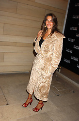 Artist TRACEY EMIN at a cocktail party hosted by MAC cosmetics to kick off London Fashion Week at The Hospital, 22 Endell Street London on 18th September 2005.At the event, top model Linda Evangelista presented Ken Livingston the Lord Mayor of London with a cheque for £100,000 in aid of the Loomba Trust that aims to privide education to orphaned children through a natural disaster or through HIV/AIDS.<br />