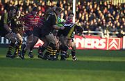 Gloucester, Gloucestershire, UK., 04.01.2003, Wasp's Frasier WATERS during, Zurich Premiership Rugby match, Gloucester vs London Wasps,  Kingsholm Stadium,  [Mandatory Credit: Peter Spurrier/Intersport Images],