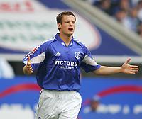 Fotball<br /> Bundesliga Tyskland 2004/2005<br /> Foto: Witters/Digitalsport<br /> NORWAY ONLY<br /> <br /> Michael DELURA<br /> Fussballspieler FC Schalke 04