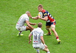 Mitch Eadie of Bristol Rugby in action against Bath Rugby - Mandatory by-line: Paul Knight/JMP - 26/02/2017 - RUGBY - Ashton Gate - Bristol, England - Bristol Rugby v Bath Rugby - Aviva Premiership