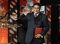 20120227: LISBON, PORTUGAL - SL Benfica 108th anniversary gala at Coliseu dos Recreios in Lisbon, Portugal.<br /> In photo: Eusebio.<br /> PHOTO: Alvaro Isidoro/CITYFILES