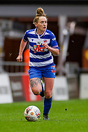 Reading midfielder Rachel Rowe (23) during the FA Women's Super League match between Manchester United Women and Reading LFC at Leigh Sports Village, Leigh, United Kingdom on 7 February 2021.