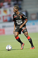 FOOTBALL - FRENCH CHAMPIONSHIP 2010/2011 - L1 - AS NANCY LORRAINE v STADE RENNAIS - 14/08/2010 - PHOTO GUILLAUME RAMON / DPPI - ISMAILA BANGOURA (REN)