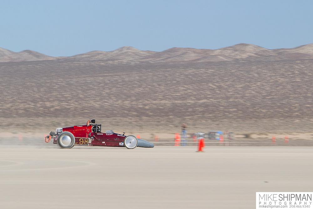 Martin Enyart Huntley, 98, eng G, body GL, driver Hayden Huntley, 138.936 mph, record 170.512