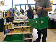 supermarket check out