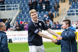 Falkirk's Darren Dods at the end of his last game for the club..Falkirk 4 v 1 Morton, 4/5/2013..© Michael Schofield..