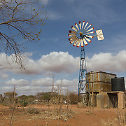 Windmill rehabilitated by Sheepfold Ministries. Wajir, North Eastern Kenya.