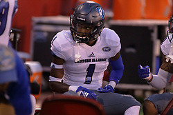 NORMAL, IL - September 08: Darius Waddell during 107th Mid-America Classic college football game between the ISU (Illinois State University) Redbirds and the Eastern Illinois Panthers on September 08 2018 at Hancock Stadium in Normal, IL. (Photo by Alan Look)