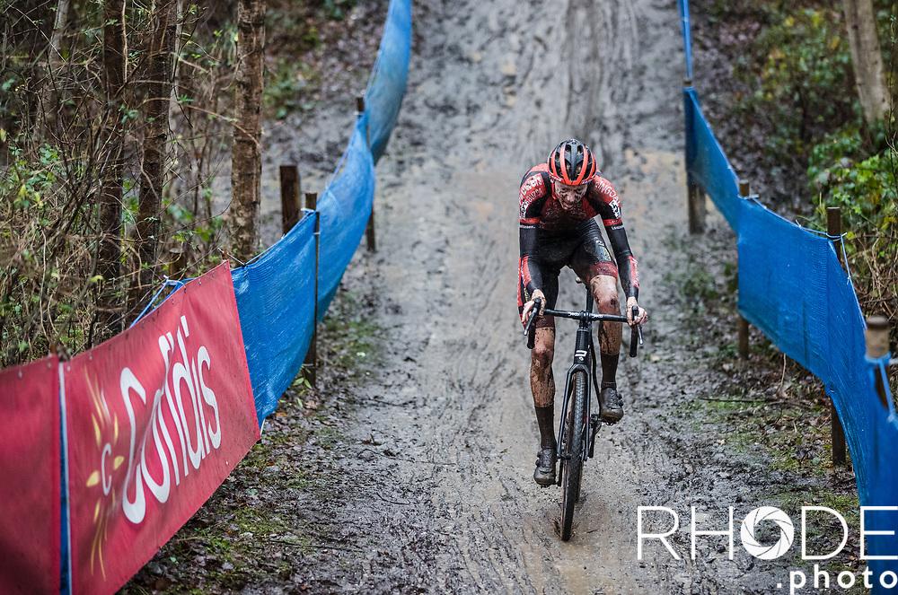 Michael Vanthourenhout (BEL/Pauwels Sauzen - Bingoal)<br /> <br /> X2O Badkamertrofee Herentals 2020<br /> Men Elite Race<br /> <br /> ©RhodePhotoMedia