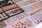 Navajo jewelry for sale at Four Corners Monument, Navajo Indian Reservation, New Mexico