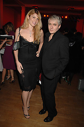 NICK RHODES and MEREDITH OSTROM at the Art Plus Drama party Held at the Whitechapel Art Gallery, London E1 on 8th March 2007. <br /><br />NON EXCLUSIVE - WORLD RIGHTS