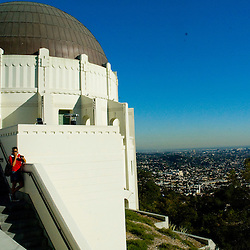 Griffith Observatory los angeles and  Hollywood California